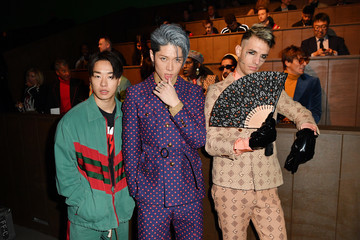 Miyavi Gucci - Front Row - Milan Meanswear Fashion Week Fall/Winter 2020/21