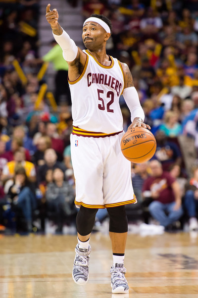 Indiana Pacers v Cleveland Cavaliers [photograph,basketball,sports,basketball player,ball game,player,team sport,basketball moves,tournament,championship,mo williams,teammates,user,user,note,cleveland,indiana pacers,cleveland cavaliers,half]