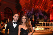 Maurits Stibbe and Negin Mirsalehi attend a Moët & Chandon Toasts to the Icons at Harper's BAZAAR ICONS party 2019 In New York City at The Plaza Hotel on September 06, 2019.