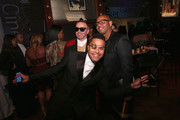(L-R) Legendary Damon, Maxwell, and Emil Wilbekin attend the MoCADA 3rd Annual Masquerade Ball at Brooklyn Academy of Music on October 25, 2017 in New York City.