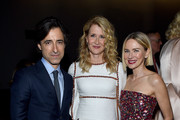 (L-R) Noah Baumbach, Laura Dern, and Naomi Watts attend MoMA's Twelfth Annual Film Benefit Presented By CHANEL Honoring Laura Dern on November 12, 2019 in New York City.