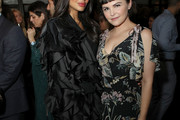(L-R) Jameela Jamil and Ginnifer Goodwin join Moet & Chandon at the HFPA and The Hollywood Reporter's Celebration of the 2020 Golden Globe Ambassadors at Catch on November 14, 2019 in West Hollywood, California.