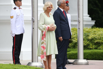 Mohamed Abdullah Alhabshee The Prince Of Wales & Duchess Of Cornwall Visit Singapore, Malaysia, Brunei And India - Day 2