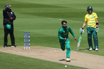 Mohammad Hafeez Pakistan v South Africa - ICC Champions Trophy