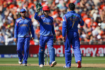 Mohammad Nabi New Zealand v Afghanistan - 2015 ICC Cricket World Cup