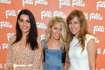 Mollie King Folli Follie Celebrates The Launch of the New Flagship Store On Oxford Street With Mrs Ketty Koutsolioutsos