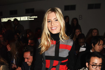Mollie King Front Row at London Fashion Week