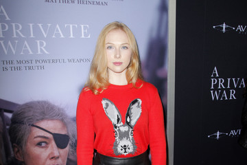"Molly Quinn Aviron Pictures' Los Angeles Premiere Of ""A Private War"" - Red Carpet"