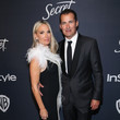 Molly Sims The 2020 InStyle And Warner Bros. 77th Annual Golden Globe Awards Post-Party - Red Carpet