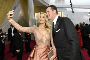 Molly Sims Scott Stuber 92nd Annual Academy Awards - Red Carpet