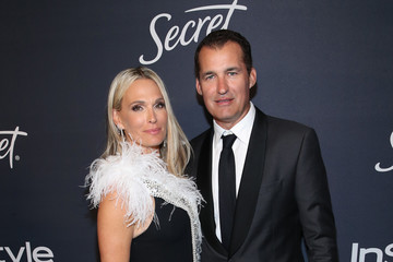 Molly Sims Scott Stuber The 2020 InStyle And Warner Bros. 77th Annual Golden Globe Awards Post-Party - Red Carpet