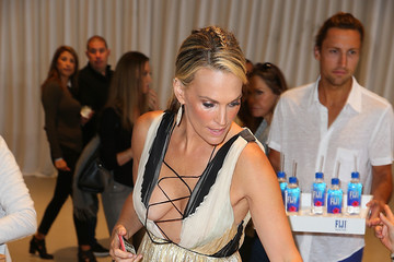 Molly Sims FIJI Water at OCRF's 3rd Annual Super Saturday LA