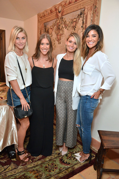 Guests Visit the KEEP Collective Accessories Social to Benefit the Kind Campaign [fashion,event,long hair,room,dress,jeans,trunk,house,fashion design,brown hair,guests,co-founder,julianne hough,lauren paul,molly thompson,jessica szohr,keep collective accessories social,los angeles,california,kind campaign]