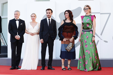 """Mona Fastvold """"Madres Paralelas"""" Red Carpet And Opening Ceremony - The 78th Venice International Film Festival"""