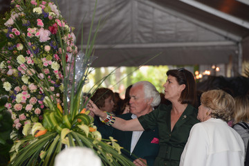 "Yves Piaget Monaco : 45th International ""Concours de Bouquets"" Opening"