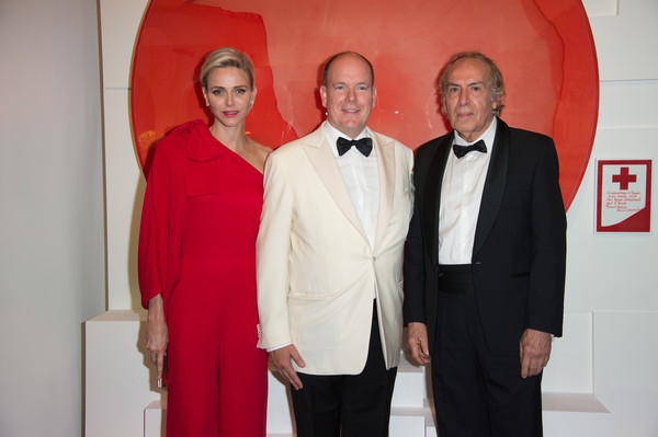 Monaco Red Cross Ball Gala