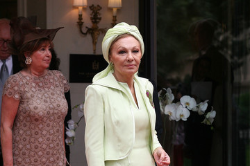 Farah Pahlavi Monaco Royal Wedding - Guest Sightings