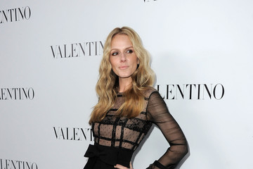 Monet Mazur Valentino Rodeo Drive Flagship Opening