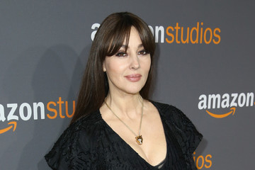 Monica Bellucci Amazon Studios Golden Globes Celebration