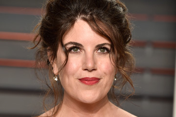 Monica Lewinsky 2016 Vanity Fair Oscar Party Hosted By Graydon Carter - Arrivals
