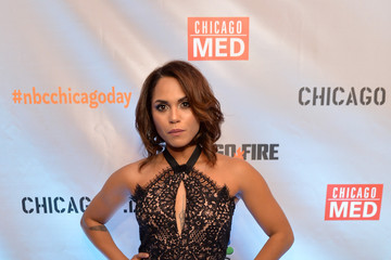 Monica Raymund NBC's 'Chicago Fire,' 'Chicago P.D.' and 'Chicago Med' - Premiere