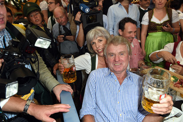 Monika Maier Celebrities At Oktoberfest 2014 - Day 1