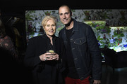 """Deborra-Lee Furness and Nigel Barker attend the Monkey 47 Gin Celebrates """"Shaken And Stirred"""" Podcast Launch With Nigel Barker And Tom Astor At The Wild Monkey on April 27, 2019 in New York City."""