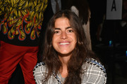 Leandra Medine attends the Monse front row during New York Fashion Week: The Shows at SIR Stage 37 on September 7, 2018 in New York City.