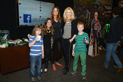 (L-R)  Kelly Bensimon of the Real Housewives of New York and Alex McCord of Real Housewives of NYC and guests attend during Monster Energy SuperCross World Championship Race at MetLife Stadium on April 26, 2014 in East Rutherford, New Jersey.
