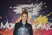 Missy Franklin attends Montblanc X Laureus Sport For Good photocall at Hotel Hermitage during 2019 Laureus World Sports Awards, on February 17, 2019 in Monaco, Monaco.