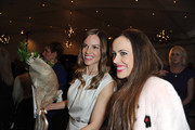 """Hilary Swank and Sandra Bauknecht attend a Pre-Oscar charity brunch hosted by Montblanc and UNICEF to celebrate the launch of their new """"Signature For Good 2013"""" Initiative with special guest Hilary Swank at Hotel Bel-Air on February 23, 2013 in Los Angeles, California."""