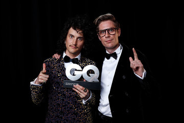 Monte Morgan GQ Men of the Year Awards - Backstage