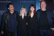 Demian Bichir, Loreen Babcock, Ana de Armas, and Director John Hillcoat attend CORAZON, Tribeca Film Festival public screening and red carpet event presented by Montefiore on April 22, 2018 in New York City.