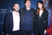 Roger Wasserman, Actors Demian Bichir and Ana de Armas attend CORAZON, Tribeca Film Festival public screening and red carpet event presented by Montefiore on April 22, 2018 in New York City.