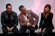 Demian Bichir, Dr. Daniel Goldstein, and Ana de Armas speak onstage at CORAZON, Tribeca Film Festival Public Screening and Red Carpet Event presented by Montefiore on April 22, 2018 in New York City.
