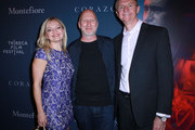 Anna Kezerashvili, Director John Hillcoat, and Dr. Mario Garcia attend CORAZON, Tribeca Film Festival public screening and red carpet event presented by Montefiore on April 22, 2018 in New York City.