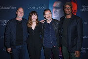 Director John Hillcoat, Actors Ana de Armas, and Demian Bichir, and Screenwriter  Kelley Sane attend CORAZON,  presented by Montefiore on April 22, 2018 in New York City.