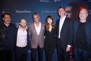 Demian Bichir, Roger Wasserman, Dr. Daniel Goldstein, Ana de Armas, Dr. Mario Garcia, and Director John Hillcoat attend CORAZON, Tribeca Film Festival public screening and red carpet event presented by Montefiore on April 22, 2018 in New York City.