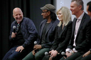 (L-R) Director John Hillcoat, Screenwriter Kelley Sane, Loreen Babcock, and Dr. Mario Garcia speak onstage at CORAZON, Tribeca Film Festival Public Screening and Red Carpet Event presented by Montefiore on April 22, 2018 in New York City.