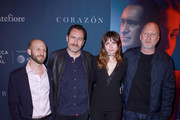 Roger Wasserman, Actors Demian Bichir, Ana de Armas, and Director John Hillcoat attend CORAZON, Tribeca Film Festival public screening and red carpet event presented by Montefiore on April 22, 2018 in New York City.