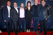 John McKelvey, Jeffrey Short, Roger Wasserman, Ana de Armas, Director John Hillcoat, and Demian Bichir attend CORAZON, Tribeca Film Festival public screening and red carpet event presented by Montefiore on April 22, 2018 in New York City.