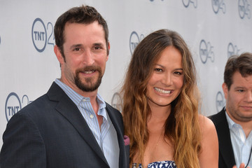 Moon Bloodgood Arrivals at TNT's 25th Anniversary Party