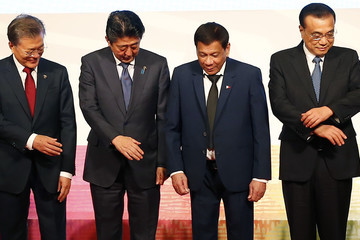 Moon Jae-In 31st Southeast Asian Nations (ASEAN) Summit in the Philipppines