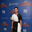 Morena Baccarin FIJI Water With The Cinema Society Host A Special Screening Of 'Captain Marvel'