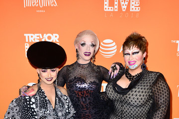 Morgan McMichaels The Trevor Project's TrevorLIVE LA 2018 - Arrivals & Cocktails