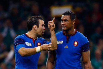 Morgan Parra France v Ireland - Group D: Rugby World Cup 2015