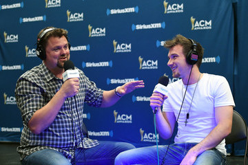 Morgan Wallen SiriusXM's The Highway Channel Broadcasts Backstage Leading Up To The American Country Music Awards at the T-Mobile Arena