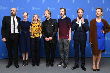 Moritz Leu 'My Brother's Name Is Robert and He Is an Idiot' Photo Call - 68th Berlinale International Film Festival