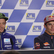 Valentino Rossi and Marc Marquez Photos