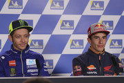 Valentino Rossi and Marc Marquez Photos Photo